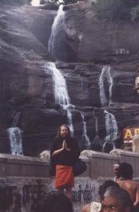 Ayyappa at Coutrallam Falls