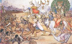 00 Kali & Durga Lead the Matrikas in Battle against the Demon army