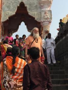 Following the puja, I felt as though I was floating down the stairs to the temple gate.